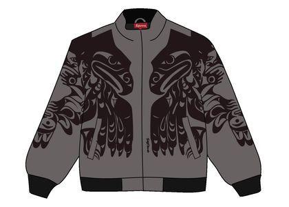 Supreme Makah Zip Up Jacket Greyの写真