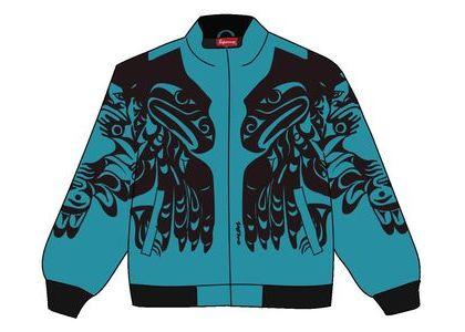 Supreme Makah Zip Up Jacket Tealの写真