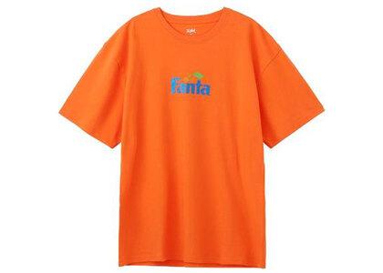 X-Girl Fanta S/S Tee Orangeの写真