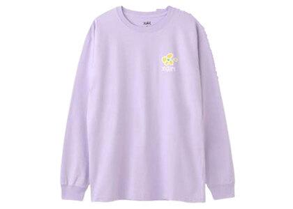 X-Girl Flower L/S Tee Light Purpleの写真