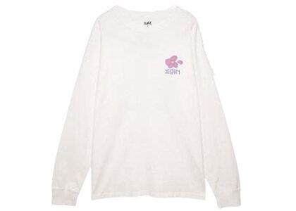 X-Girl Flower L/S Tee Whiteの写真