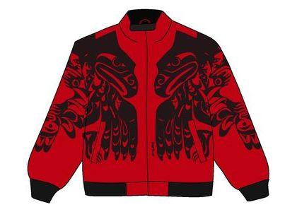 Supreme Makah Zip Up Jacket Redの写真