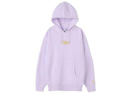 X-Girl Glitter Logo Sweat Hoodie Light Purpleの写真
