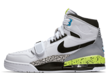 JUST DON × NIKE AIR JORDAN LEGACY 312 WHITE/BLACK-VOLT-VIVID BLUE