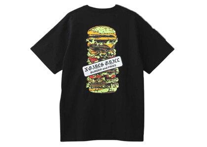 X-Girl Hamburger S/S Tee Blackの写真