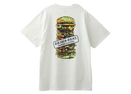 X-Girl Hamburger S/S Tee Whiteの写真