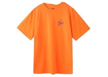 X-Girl Handwritten Logo S/S Tee Orangeの写真
