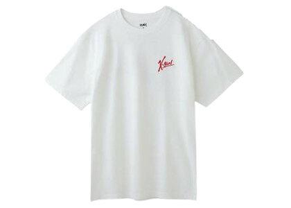 X-Girl Handwritten Logo S/S Tee Whiteの写真