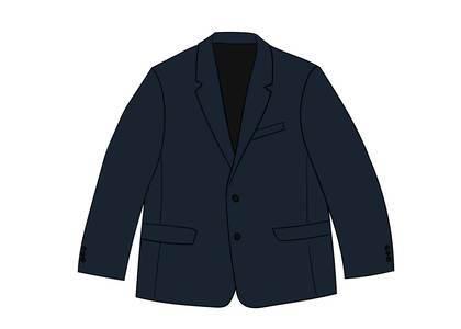 Supreme Sharkskin Suit Blueの写真