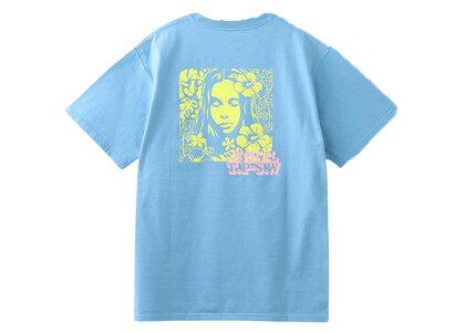 X-Girl Hibiscus Face S/S Tee Light Blueの写真