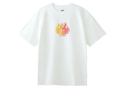 X-Girl Hot Stuff S/S Tee Whiteの写真