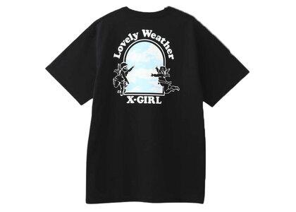 X-Girl Lovely Weather S/S Tee Blackの写真