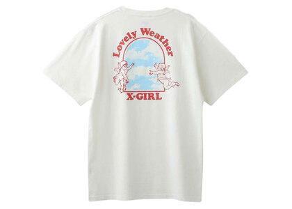 X-Girl Lovely Weather S/S Tee Whiteの写真