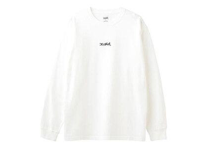 X-Girl Mills Logo L/S Tee Whiteの写真