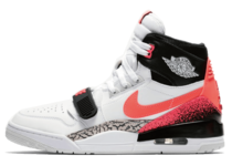 JUST DON × NIKE AIR JORDAN LEGACY 312 WHITE/HOT LAVA-BLACK-ZEN GREY