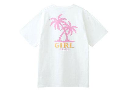X-Girl Palm Logo S/S Tee Whiteの写真