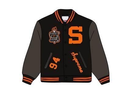 Supreme Team Varsity Jacket Blackの写真