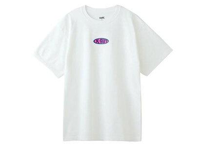 X-Girl Rubber Logo S/S Tee Whiteの写真