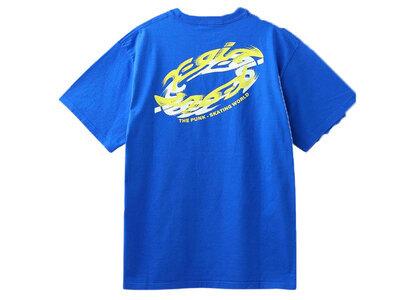 X-Girl Spin Logo S/S Tee Blueの写真