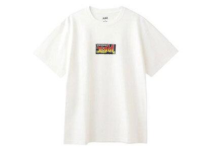 X-Girl Sticker S/S Tee Whiteの写真