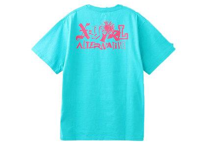 X-Girl SunFlower Logo S/S Tee Greenの写真