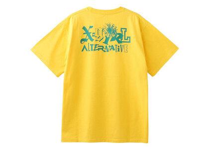 X-Girl SunFlower Logo S/S Tee Yellowの写真