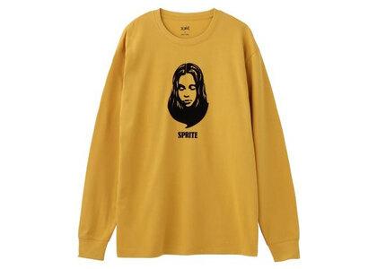 X-Girl Teardrop Shape Face L/S Tee Yellowの写真