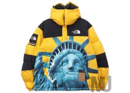 Supreme The North Face Statue of Liberty Baltoro Jacket Yellowの写真