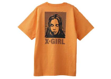 X-Girl Wave Face S/S Tee Orangeの写真