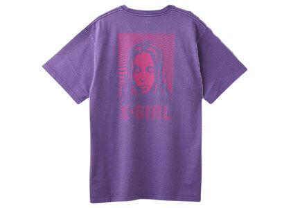 X-Girl Wave Face S/S Tee Purpleの写真