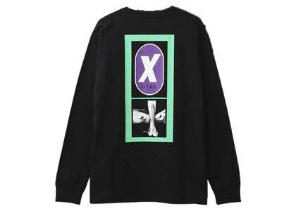 X-Girl X Legs L/S Tee Blackの写真