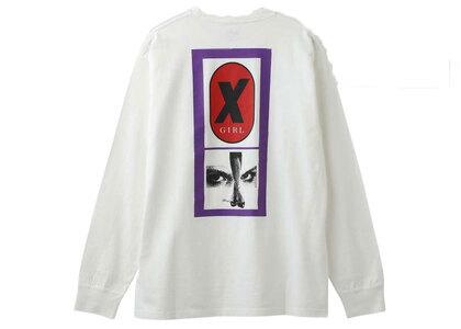 X-Girl X Legs L/S Tee Whiteの写真