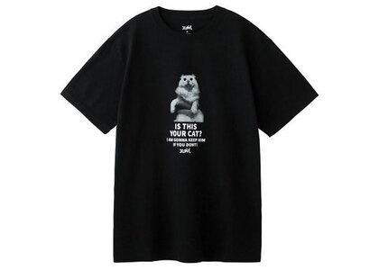 X-Girl Your Cat S/S Tee Blackの写真