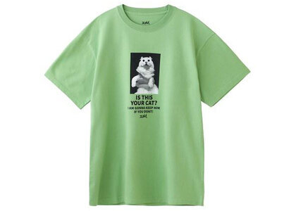X-Girl Your Cat S/S Tee Greenの写真