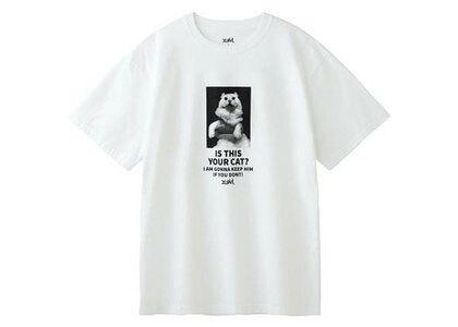 X-Girl Your Cat S/S Tee Whiteの写真