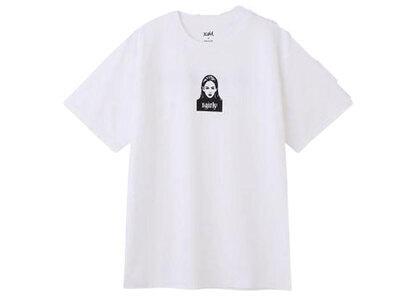 Yurino × X-Girl Face S/S Tee Whiteの写真