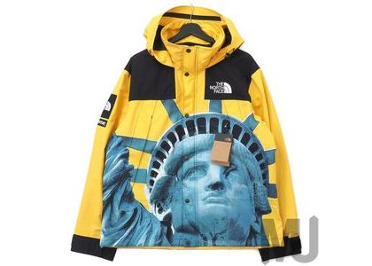Supreme The North Face Statue of Liberty Mountain Jacket Yellowの写真