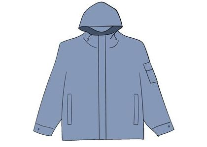 Supreme Cotton Field Jacket Light Blueの写真