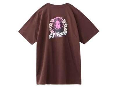 X-Girl #1 Flower S/S Tee Brownの写真