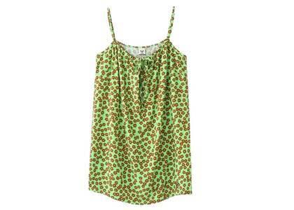 X-Girl × Roxy Retro Flower Camisole Dress Light Greenの写真