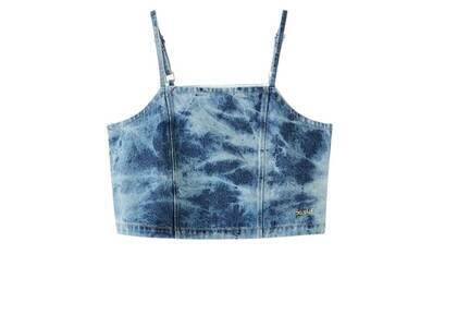 X-Girl Bleached Denim Camisole Indigoの写真
