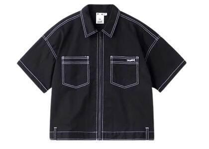 X-Girl Box Silhouette Work Shirt Blackの写真