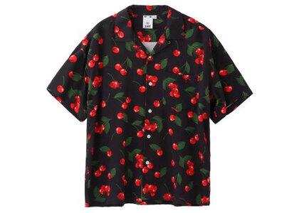 X-Girl Cherry S/S Shirt Blackの写真