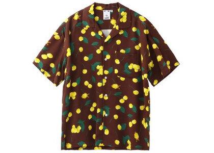 X-Girl Cherry S/S Shirt Brownの写真