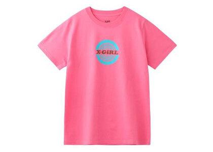 X-Girl Circle S/S Regular Tee Pinkの写真