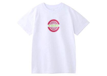 X-Girl Circle S/S Regular Tee Whiteの写真