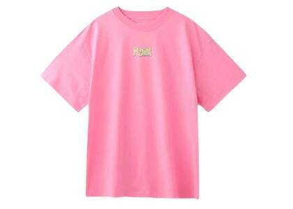 X-Girl Curve Logo S/S Mens Tee Pinkの写真