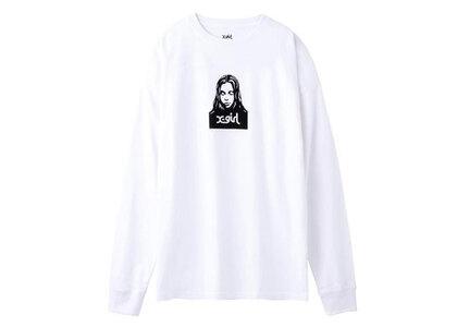 X-Girl Face L/S Tee White (1-2)の写真
