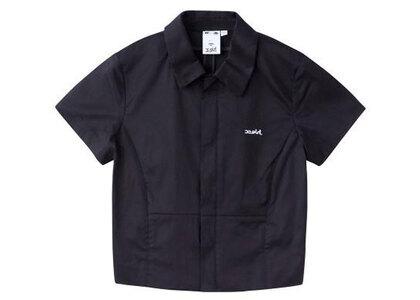 X-Girl Fitted Shirt Blackの写真