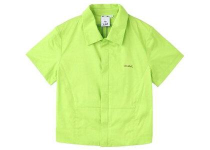 X-Girl Fitted Shirt Light Greenの写真